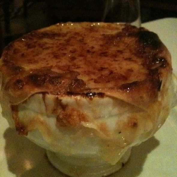 French Onion Soup - Café Centro, New York, NY