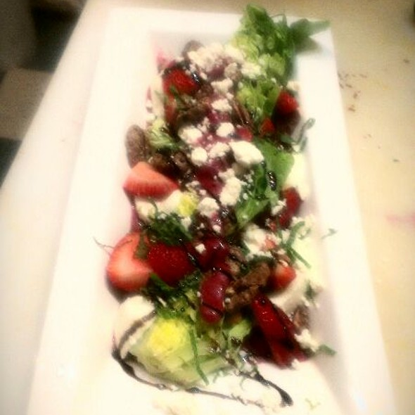 strawberry mozerella salad  - 315 Martinis and Tapas, Coeur d'Alene, ID