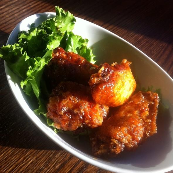 Chicken Wings - Mandu - K Street, Washington, DC