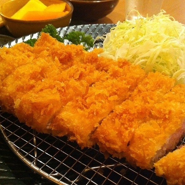 Rosu Tonkatsu Set @ Yabu