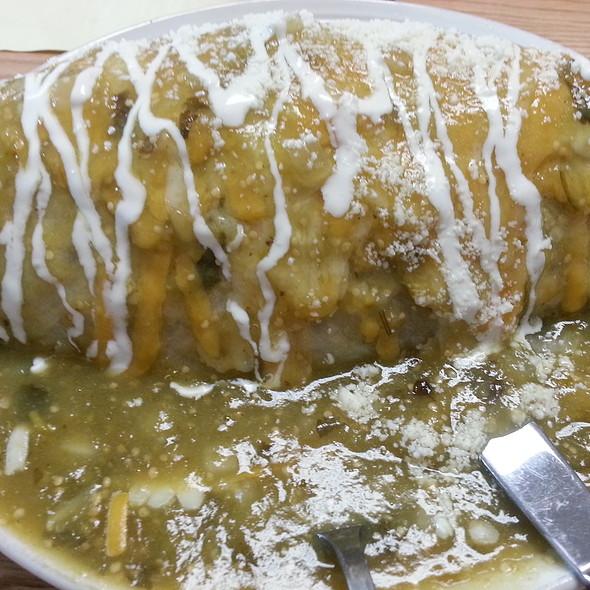 Chicken Burrito (Wet) @ Ramirez Mexican Store & Tortilla Factory - Restaurant: Ph.