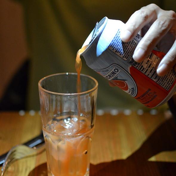 Blood Orange Soda - Terroni  YONGE (at Price St.), Toronto, ON