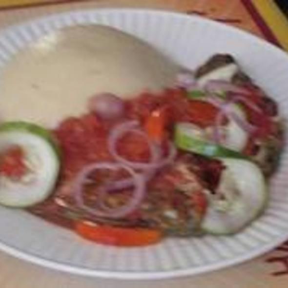 Palm Wine, Cassava Fish, Fish Soup