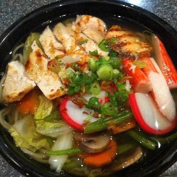 Shogun Seafood Udon @ Shogun Teppenyaki