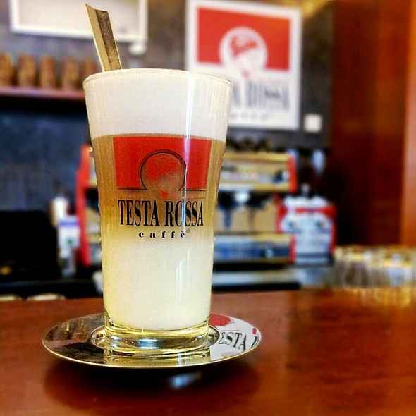Cafe Latte @ Testa Rossa