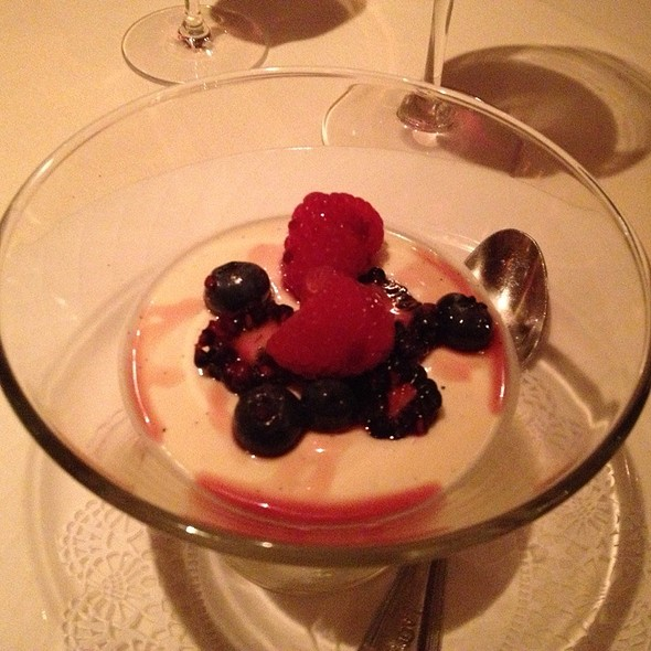 Panna Cotta Di Vaniglia - Part Of Cuorerosso Wine Dinner