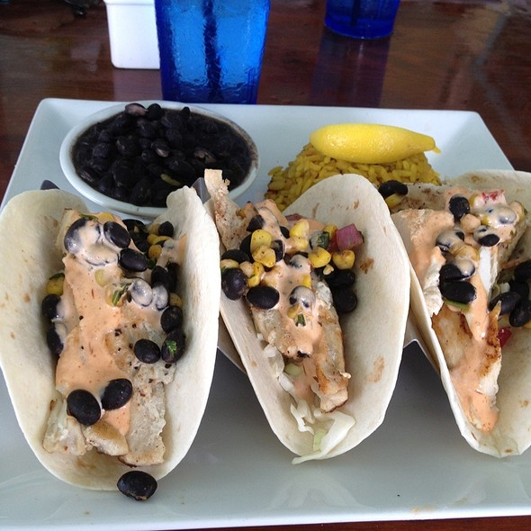 fish tacos @ Southernmost Beach Cafe