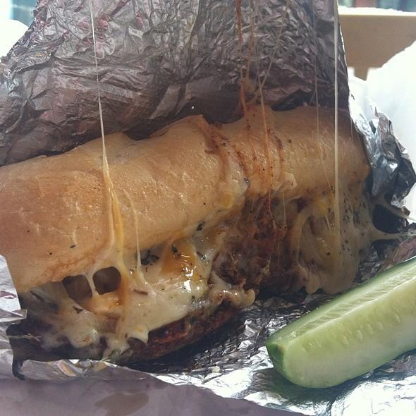 Garden Burger @ Dave's Cosmic Subs