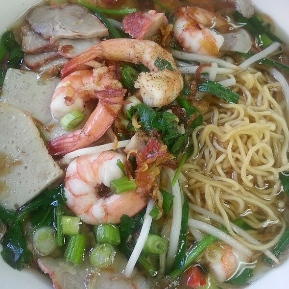 Mi Dac Biet (Pork & Shrimp Egg Noodle Soup)