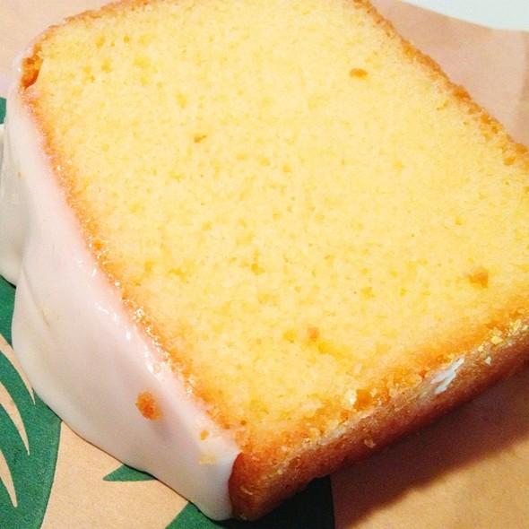 Iced Lemon Pound Cake Recipe