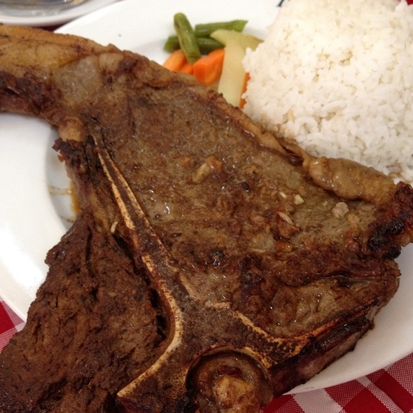 T-bone steak @ Del Monte Golf Club