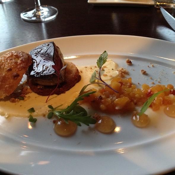 Seared Foie Gras - Deuxave, Boston, MA