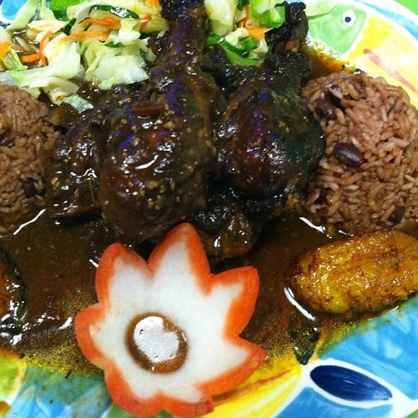 Brown Stew Chicken @ Tropical Flava
