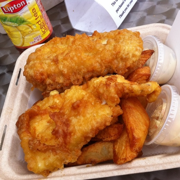 Fish and Chips @ The Frying Scotsman