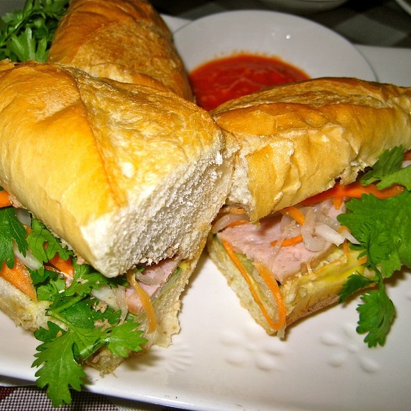 Vietnamese banh mi @ Saigon Taste Restaurant