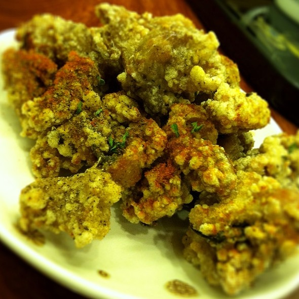 fried spicy chicken @ Tea Six