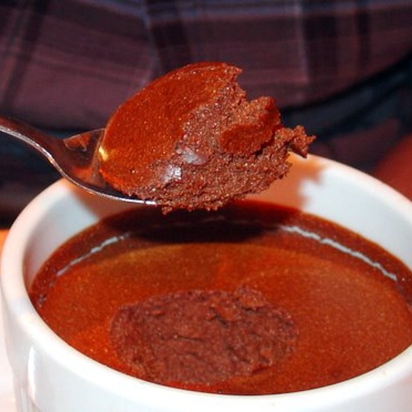 Chocolate Mousse @ Brasserie La Fontaine de la Muffe