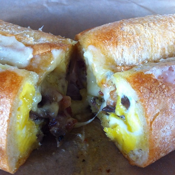 Baked Egg and Gruyere Sandwich @ Cowgirl Creamery Artisan Cheese Shop
