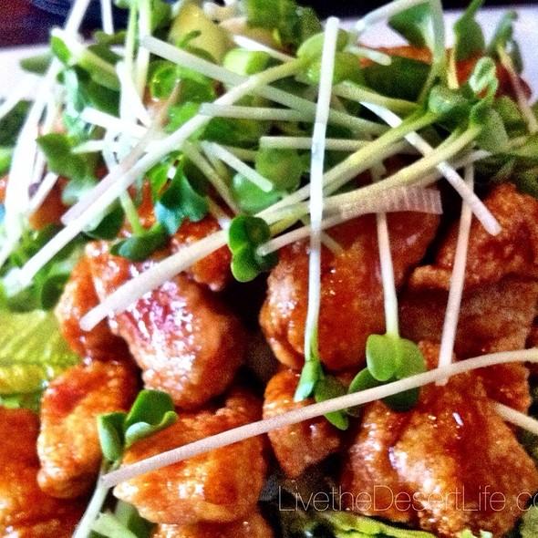 Orange Peel Chicken - La Brasserie Bistro and Bar, La Quinta, CA
