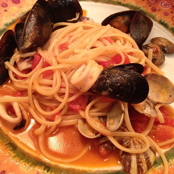 Seafood Pasta @ Trattoria la Madia