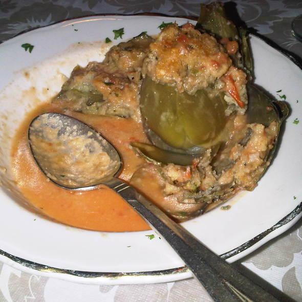 Stuffed Whole Artichoke