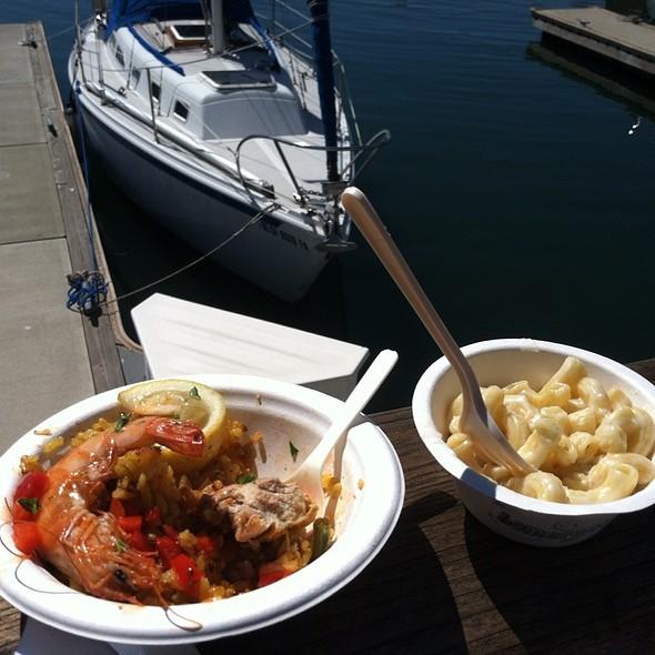 Seafood Paella @ Eat Real Festival 2010