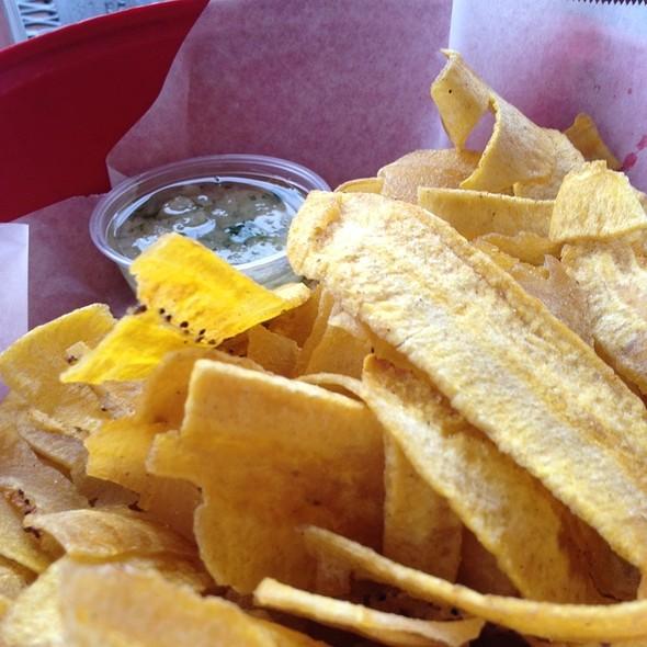 Mariquitas (Plantain Chips) @ El Cristo Restaurant