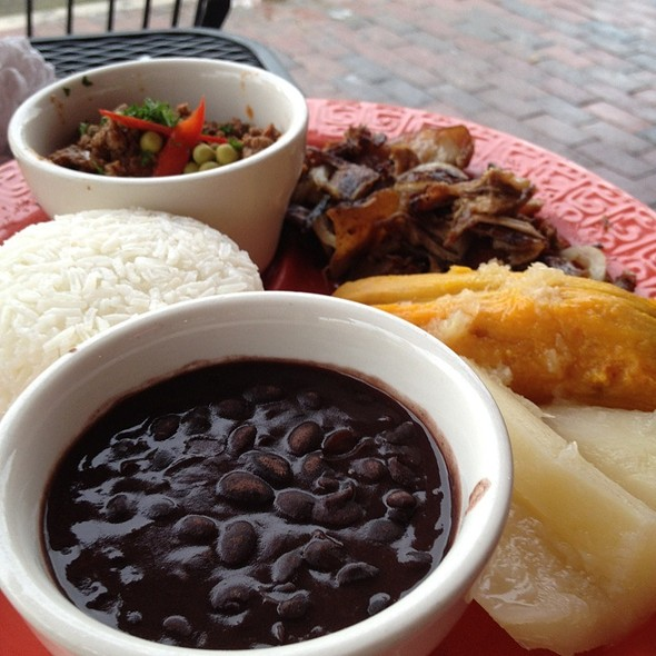 Cuban tasting platter @ El Cristo Restaurant
