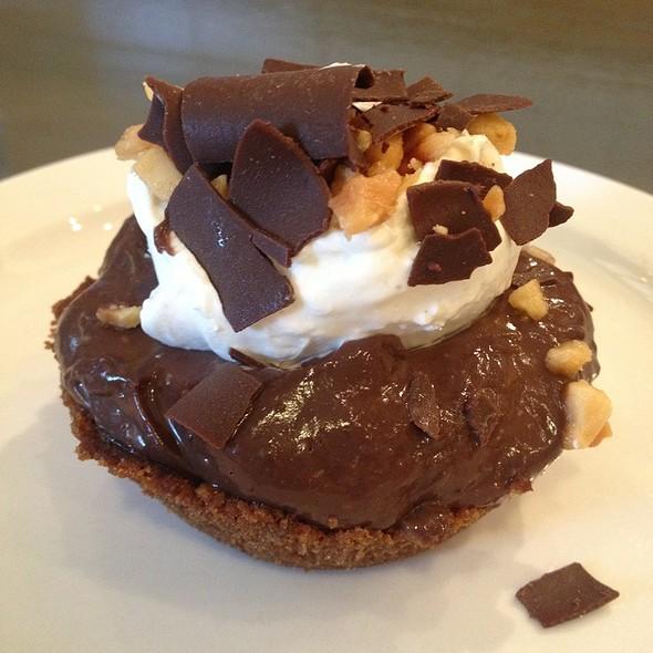 Chocolate Macadamia Nut Tart @ Leoda's Kitchen & Pie Shop