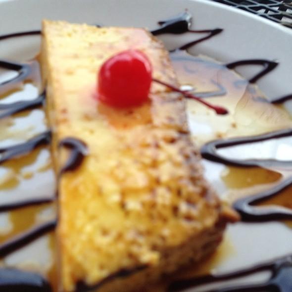 Flan de Queso @ El Cristo Restaurant