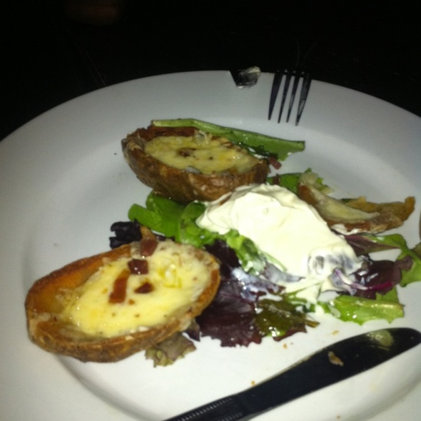 Potato Skins @ West 3rd Common - Best Bar NYC Best Happy Hour