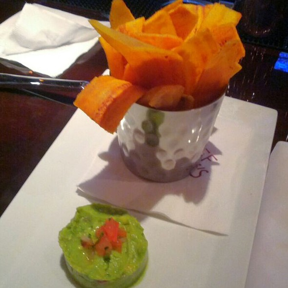 Crispy Plantain with Guacamole @ Chef Geoff's Rockville