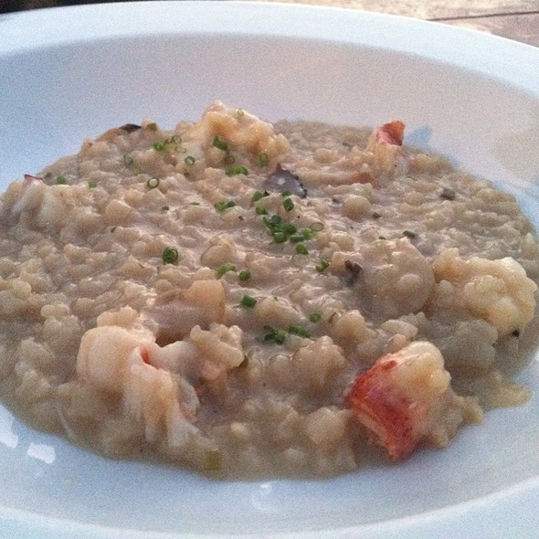 Lobster Sunchoke Risotto @ The Hideaway Restaurant & Bar