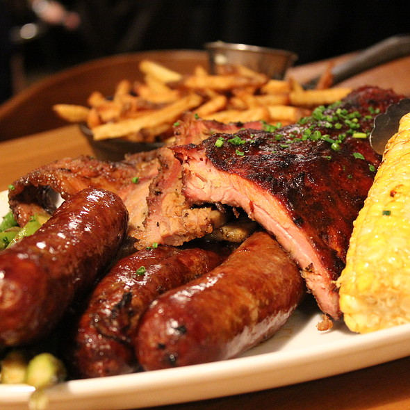 Sampler For Two @ Barque Smokehouse