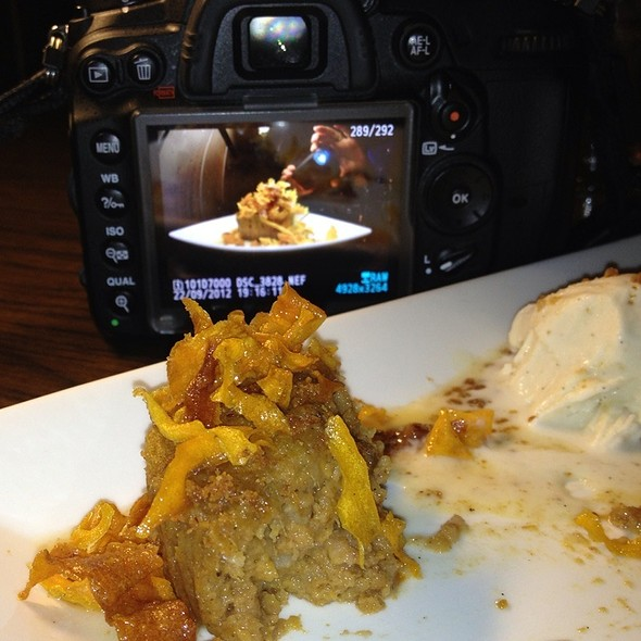 Sweet Potato Bread Pudding With Ice Cream