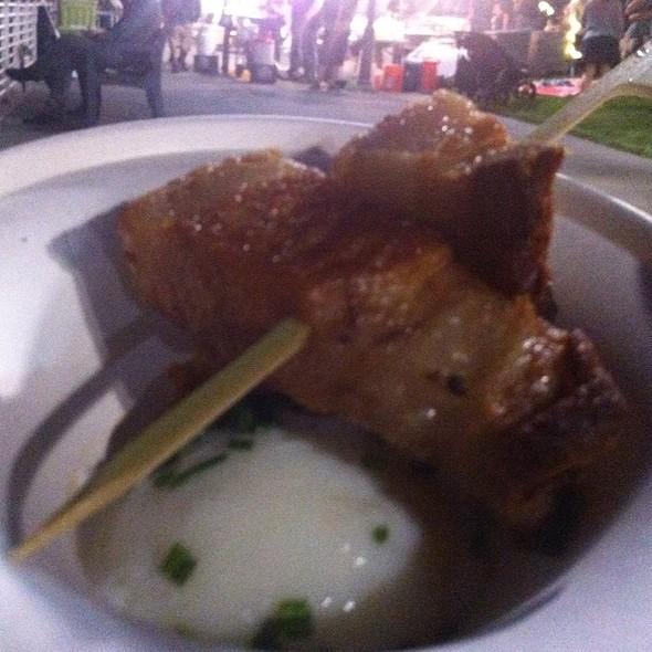 Pork Belly And 66 Degree Egg @ Eat Real Fest 2012