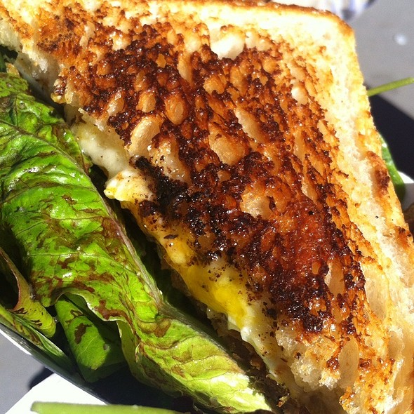 Grilled Cheese With Bacon And Fried Egg @ Eat Real Fest 2012