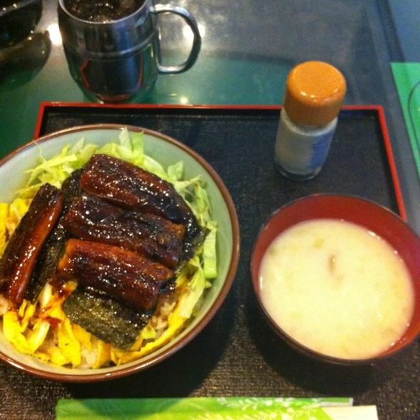 Unagi (eel) Bowl @ Tacos & Coffee