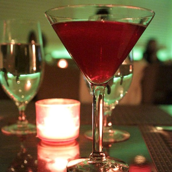 Pomegranate Martini - MINT, New York, NY