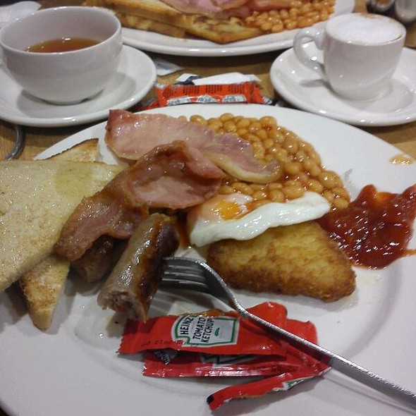 Big Breakfast @ Sainsbury's Cafe