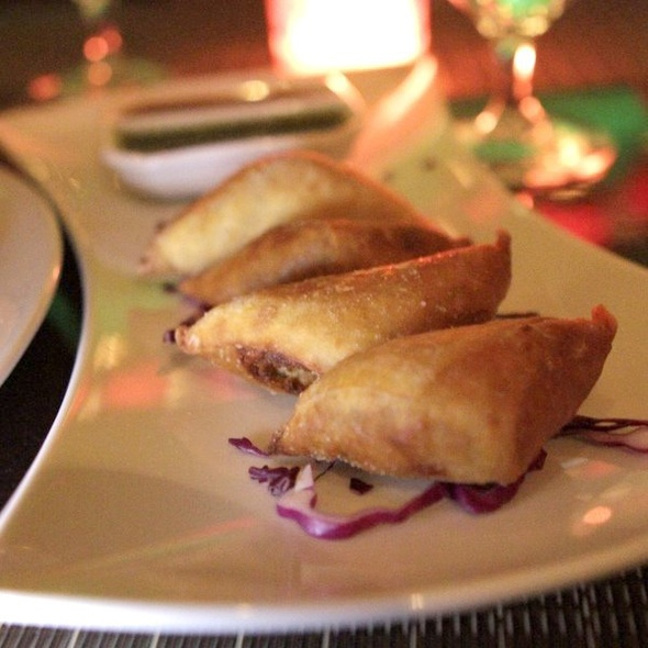 Chicken Samosa - MINT, New York, NY
