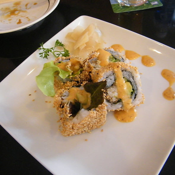 Soft-shell Crab Roll @ Fuji Restaurant