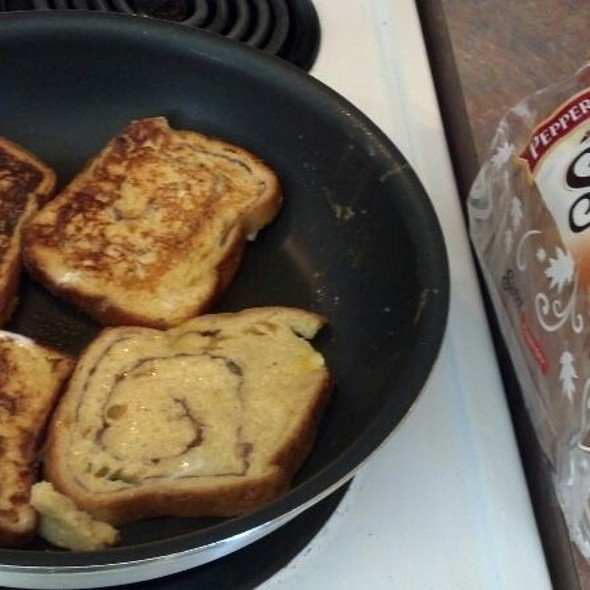 Pumpkin Swirl Bread French Toast @ My Kitchen