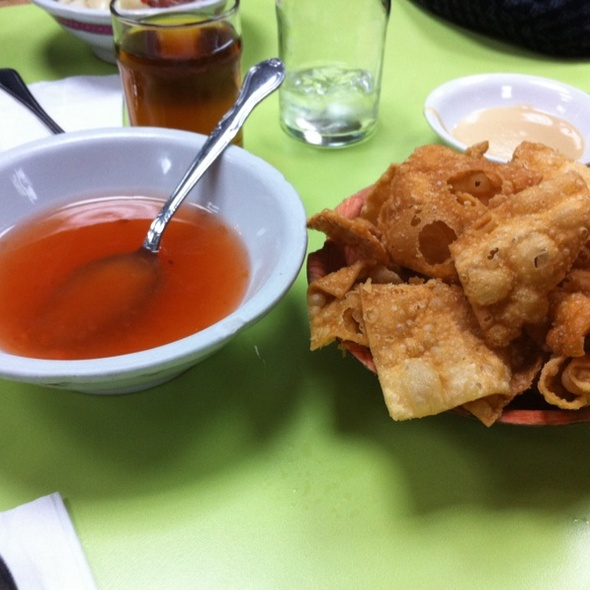 Fried Noodles @ Wo Hop Restaurant
