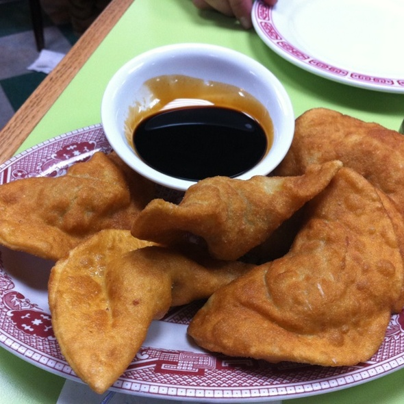 Pork Fried Dumpling @ Wo Hop Restaurant