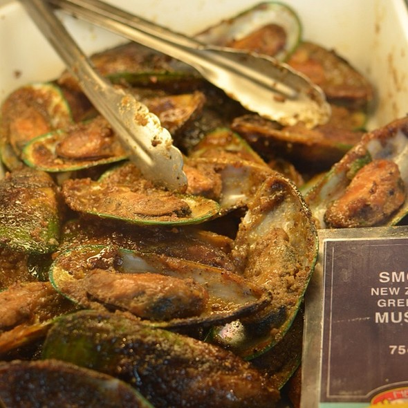 Smoked New Zealand Mussels