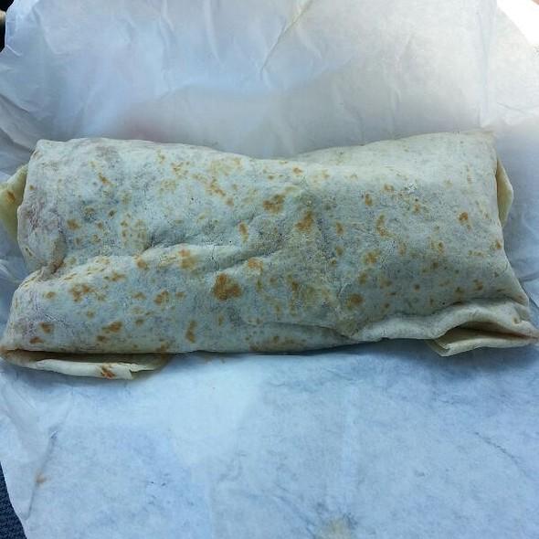 Breakfast (Chorizo) Burrito
