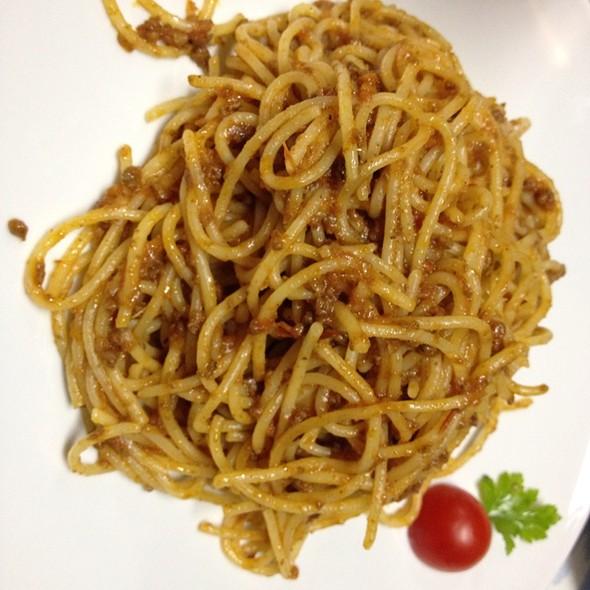 Spaghetti Bolognese @ Maddalena