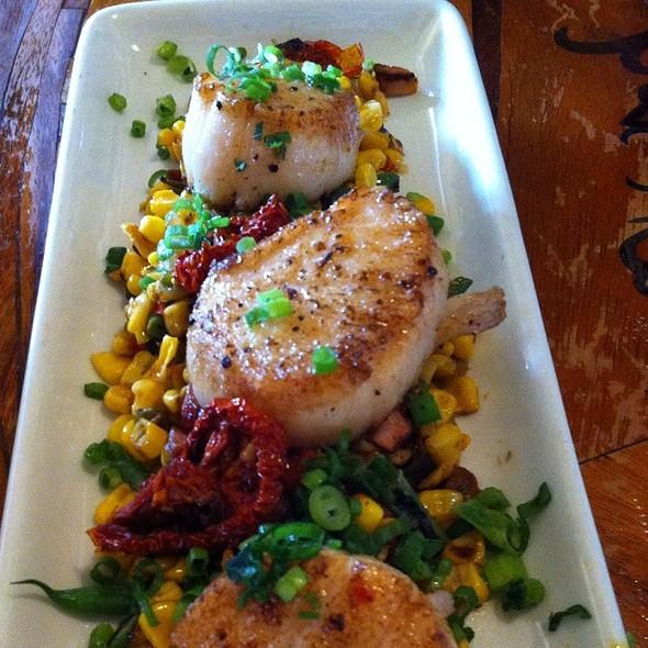 Scallops - Toulouse Petit Kitchen & Lounge, Seattle, WA