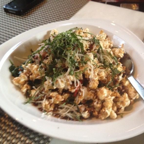 Balsamic Popcorn @ Crop Bistro & Bar